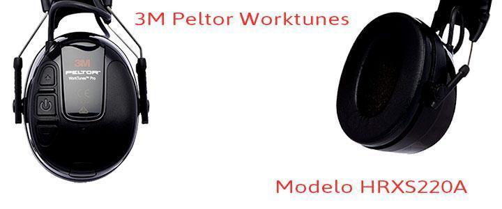 3M Peltor HRXS220A Worktunes con bluetooth