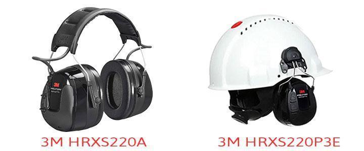Diferencias 3M HRXS220A y HRXS220P3E, protectores auditivos