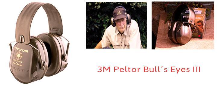 3M Peltor Bull´s Eyes III, protector auditivo para caza