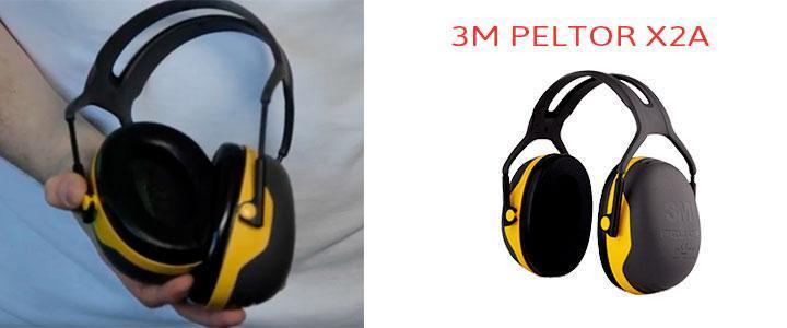 3M PELTOR X2A, protector de oídos hasta 31 dB