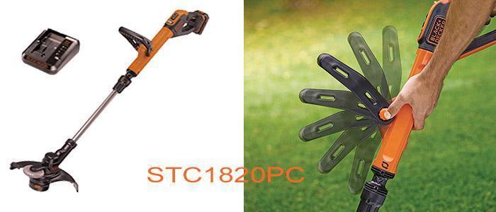 Desbrozadora Black and Decker STC1820PC 28 cm 18 v