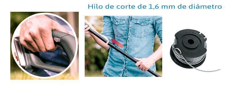 Bosch Easygrasscut 23 precio y recambios