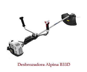 Desbrozadora Alpina b33d