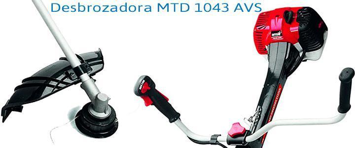 Desbrozadora MTD 1043 AVS