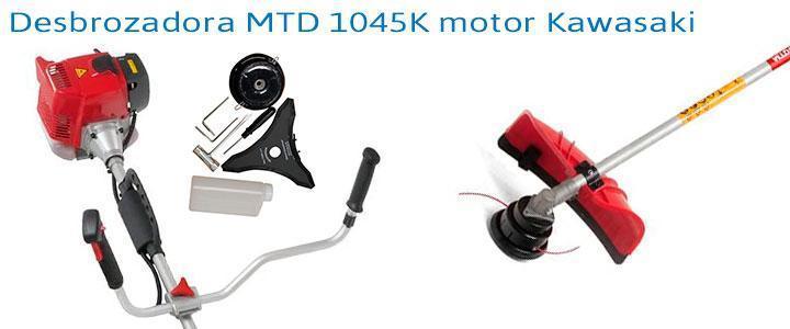 Desbrozadora MTD 1045K motor Kawasaki