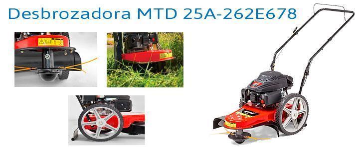 Desbrozadora MTD 25A-262E678