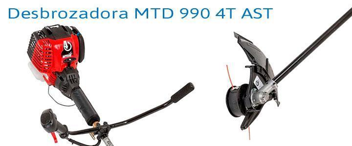 Desbrozadora MTD 990 4T AST