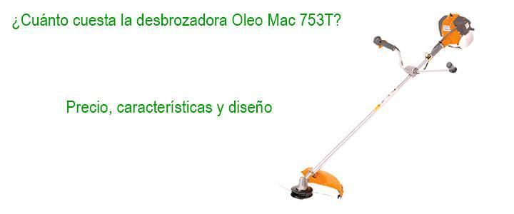 desbrozadora oleo mac 753 t precio