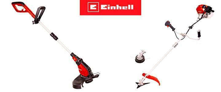 Desbrozadoras Einhell gasolina, eléctricas y a batería