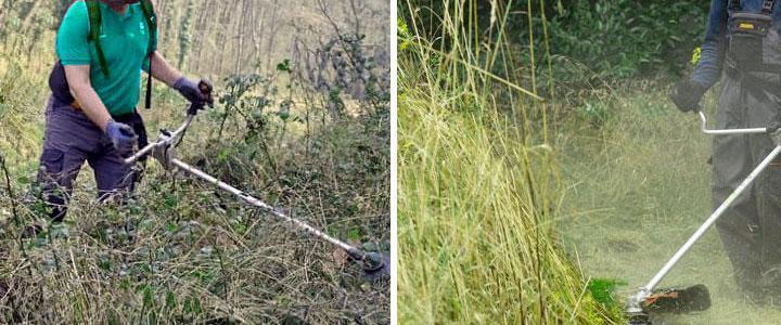 Disco desbrozadora para zarzas, cañas y matorrales