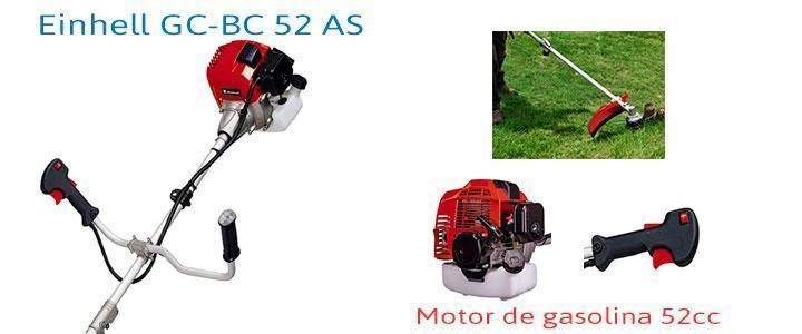 Desbrozadora Einhell GC-BC 52 AS con 52cc