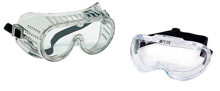 Gafas de seguridad industrial y laboral