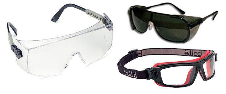 Gafas de seguridad y protección EPP