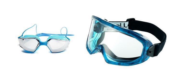 Gafas de seguridad estancas y protección impermeable contra líquidos y gases