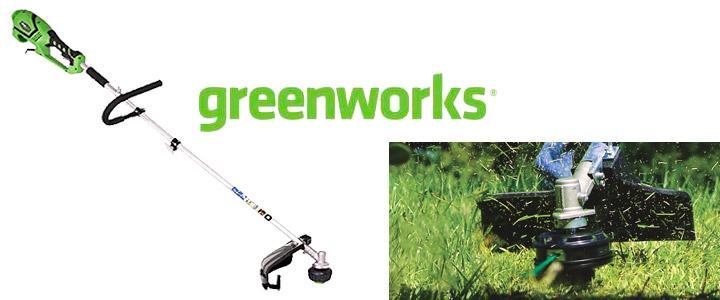 Desbrozadora electrica Greenworks 1200w