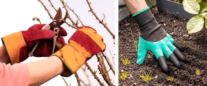 GModelos de guantes de jardinería para mujer, niños y hombres