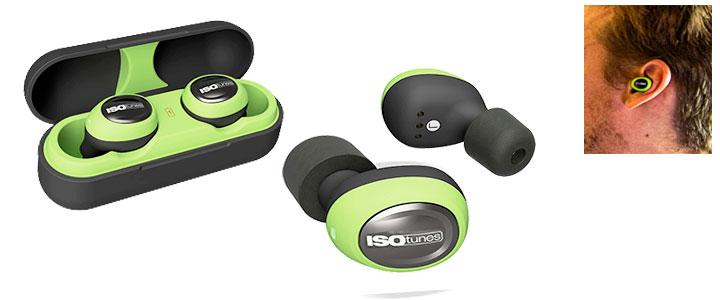 Protección auditiva tipo tapones con bluetooth
