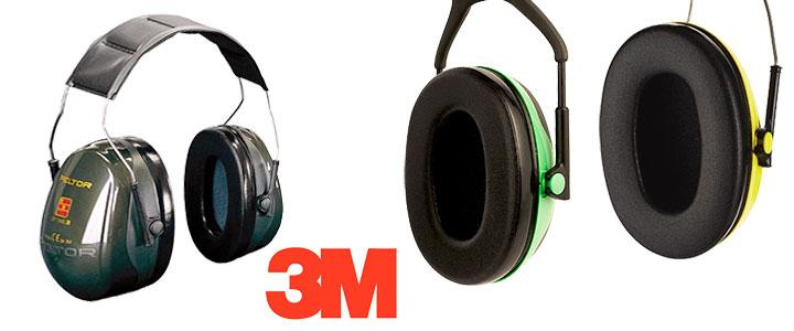 Protectores auditivos 3M