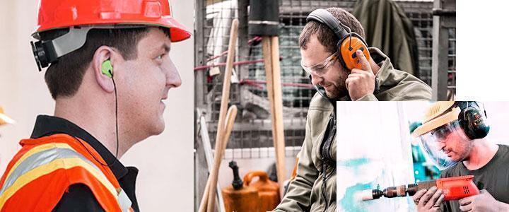 Protectores de oídos para ruidos