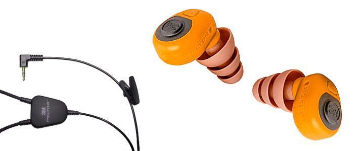 Protectores de oídos dependientes del nivel
